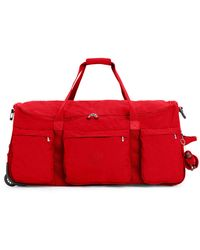 Kipling Discover Large Wheeled Duffle - Red