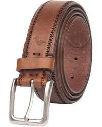 Tommy Bahama 100% Leather Belt - Brown