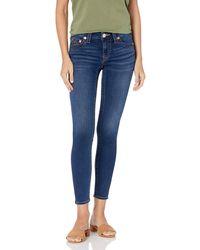 True Religion Plus Size Jennie Curvy Skinny Fit Jean - Blue