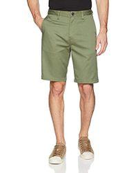 129d948666 Billabong Carter Stretch Chino Shorts (light Khaki) Men's Shorts in Green  for Men - Lyst