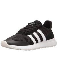 timeless design 0219c a5495 adidas Originals - Flashback Fashion Sneakers, White black, ((11 M Us