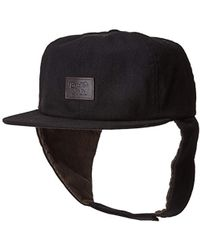 441874e0ac6a2 Lyst - Ktz Hat With Ear Flaps in Gray for Men