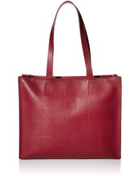 Ecco Geometrik Shopper - Red