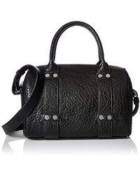 b923801002 Lyst - Armani Jeans Kelis Black See Through Beach Bag in Black