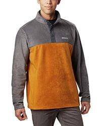 Columbia - Steens Mountain Half Snap Fleece Jacket - Lyst