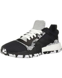 adidas Marquee Boost Low Basketball Shoe - Black