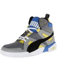 64a4680f51d6b8 PUMA - Ftr Trinomic Slipstream Lite Sneaker, Steel Grey/black/blue, 9