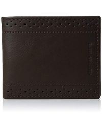 Geoffrey Beene - Stitched Perforated Rfid Blocking Bifold Wallet - Lyst
