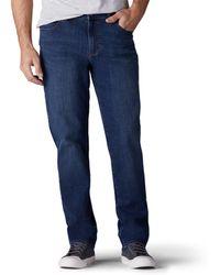 Lee Jeans Modern Series Regular Fit Tapered Leg Jean - Blue