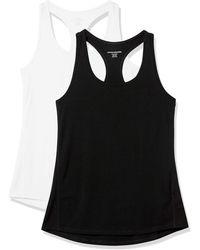 Amazon Essentials Studio Lightweight Racerback Tank Top-And-Cami-Shirts - Nero
