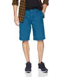 William Rast Ken Fashion Chino Short - Blue