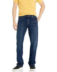 7 For All Mankind Jeans Relaxed Fit Straight Leg Pant - Blue