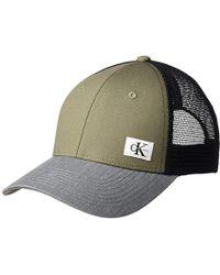 Calvin Klein - Jeans Snapback Trucker Hat - Lyst