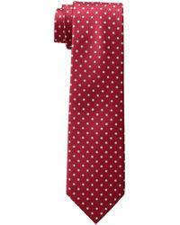Tommy Hilfiger Dot Print Tie - Red