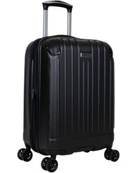 Kenneth Cole Reaction Flying Axis Collection Lightweight Hardside Expandable 8-wheel Spinner Luggage - Black