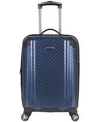 "Ben Sherman 28"" Pap Expandable 8-wheel Luggage Upright - Blue"
