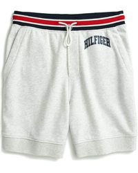 Tommy Hilfiger Adaptive Sweat Short With Slide Loop Closure - Gray
