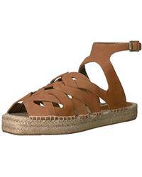 Cynthia Vincent Pebbles Platform Sandal - Brown