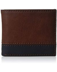 Geoffrey Beene - Stitched Colorblock Rid Blocking Bifold Wallet - Lyst