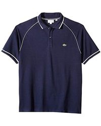 Lacoste Mens Short Sleeve Heritage France Mesh Waff Reg Fit Polo PH3207