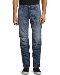 G-Star RAW 5620 Deconstructed Higa 3d Low Tapered - Blue