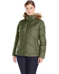 Columbia Plus Sizesnow Eclipse Jacket Size - Green
