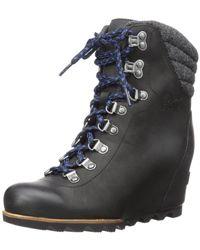 Sorel Conquest Wedge Mid Calf Boot - Black