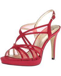 Adrianna Papell Adri Heeled Sandal - Red