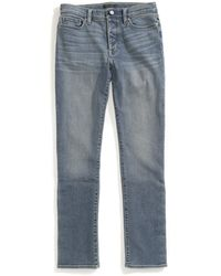 Tommy Hilfiger Adaptive Jeans Straight Fit Adjustable Waist Magnet Buttons - Blue