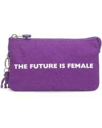 Kipling Creativity Large Pouch - Purple