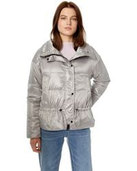 Vince Camuto Light Weight Short Down Jacket - Multicolor