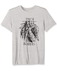 RVCA Blinders Short Sleeve T-shirt - White