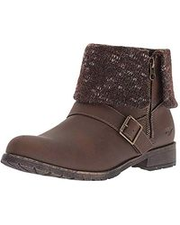 Rocket Dog Bentley Graham Pu Finland Fabric Ankle Boot - Brown