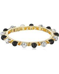Noir Jewelry - Semi Precious Sphere Roller Bracelet - Lyst