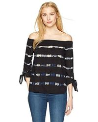 Bailey 44 - Paint Ball Off The Shoulder Top - Lyst
