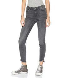 """Vero Moda - Seven Mid Rise Uneven Ankle Jean 32"""" Inseam - Lyst"""