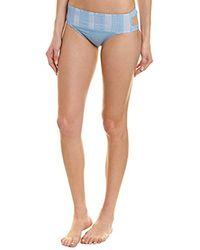 Ella Moss - Keyhole Swimsuit Bikini Bottom - Lyst