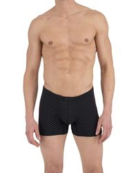 Perry Ellis 4 Pack Covered Waistband Boxer Briefs - Gray