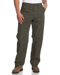 Carhartt Washed Duck Work Dungaree Pant,moss,35w X 30l - Green