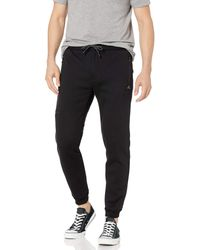 Rip Curl Departed Anti Series Tech Sweatpants - Black