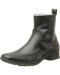 Steven by Steve Madden Albertos Dress Boot,black,9 M