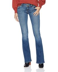 Hudson Jeans Signature Mid Rise Bootcut Flap Pocket Jean - Blue