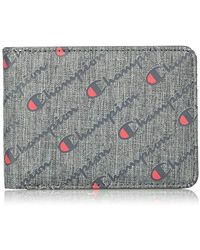 Champion S Advocate Bifold Wallet - Gray