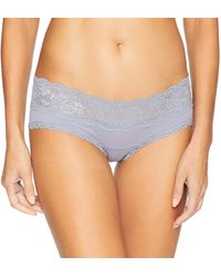 Cosabella Say Never Maternity Hotpant - Blue