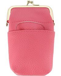 Buxton Framed Cigarette Case - Pink