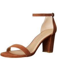Stuart Weitzman Nearlynude Heeled Sandal - Multicolor