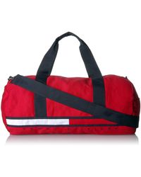 Tommy Hilfiger Unisex Adults Sporty Tino Duffle Bag - Red