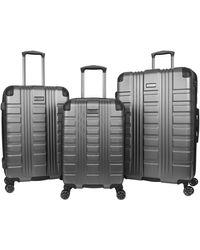 Kenneth Cole Reaction Scott's Corner Hardside Expandable 8-wheel Spinner Tsa Lock Travel Suitcase - Multicolor