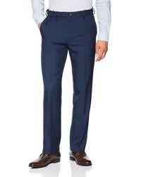 Franklin Tailored Expandable Waist Classic-fit Dress Pants - Blue