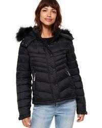 Superdry Fuji Slim 3 In 1 Jacket - Black